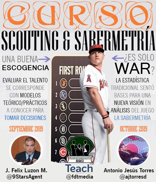 curso-sabermetria-scouting-beisbol-mlb-baseball